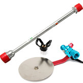 12 Inch Airless Paint Airbrush Spray Tip Extension Pole with 7/8 Inch Spray Guns Guide Accessory