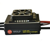 WOLF 200A PRO Aluminum Alloy Fully Waterproof Brushless ESC for 1/5 1/8 RC Car Models