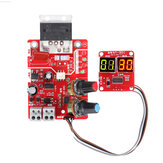 NY-D01 40A/100A Digital Display Spot Soldering Station Time and Current Controller Board Timing Ammeter Spot Welders Control Board