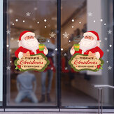 Miico XL505 Christmas Sticker Home Decoration Sticker Window and Wall Sticker Shop Decorative Stickers