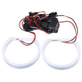 131MM Halo Ring Хлопок Light LED Angel Eye Для BMW E36 3 серии E38 E39 E46 Авто Огни