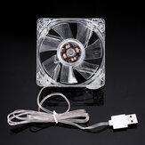 DC 5V Mini ventoinha de resfriamento mudo USB para set-top de roteador de resfriamento de tanque de peixes Caixa Ventilador de resfriamento de 8 cm