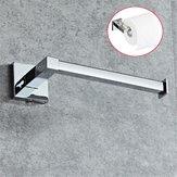 Uchwyt na papier toaletowy ze stali nierdzewnej srebrny Uchwyt na półkę Półka Ścienny stojak łazienkowy
