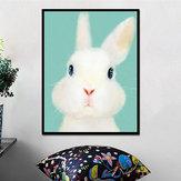 Miico El Boyalı Yağ Resimlerinde Karikatür Tavşan Resimlerinde Duvar Sanatı Ev Dekorasyon Için