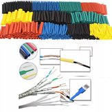 820Pcs Polyolefin Shrinking Assorted Heat Shrink Tube Fio Conjunto de mangas isoladas por cabo