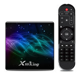 X88 King Amlogic S922X 4GB DDR4 RAM 128GB ROM 1000M LAN 5G WIFI bluetooth 5.0 Android 9,0 4K VP9 H.265 TV Kutu