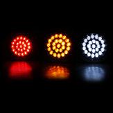 24LEDs Car Indicator Stop Brake Lamp Rear Tail Reverse Light For Car Truck Trailer Boat 12V