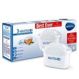 3pcs Water Filter Cartridges for Brita Maxtra+ White Microflow Technology