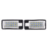 إقران 18LED رقم لوحة الأنوار CANBUS Error Free for Audi A3 S3 A4 A6 S6 A5 RS4