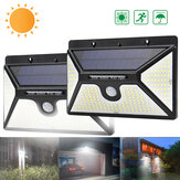 ARILUX 218 LED Solar Power PIR Motion Sensor Wall Light Outdoor Garden Light Waterproof