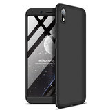 Bakeey 3 in 1 Double Dip 360 ° Hard الكمبيوتر Full Protection Case For Xiaomi Redmi 7A