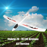 Flybear FX707 Main Lancer RC Avion PPE 1200mm Envergure Avion Aile Fixe KIT pour DIY
