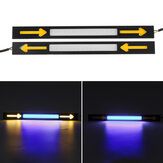 2Pcs Car COB LED Daytime Running Lights  DRL Turn Signal Fog Lamps 12V 5W Waterproof Universal