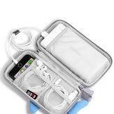 BUBM Portable 20000mAh Cartoon Power Bank Bag Charger USB Cable Storage Pouch Digital Storage Bag
