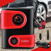 AUDEW 12 V DC Pneu De Carro Pneu Inflator Portátil Mini Bomba de Compressor de Ar Auto Bomba de Pneu para Carro Bicicleta Motocicleta SUV e Outros Inflatables