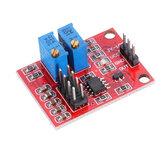 NE555パルスモジュールLM358デューティおよび周波数調整可能な方形波信号発生器アップグレードバージョン