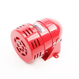 Mini Metal Motor Siren 110DB Industrial Alarm Sound Electrical Guard Anti-theft AC 220V 110V DC 12V 24V