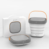 Original              Moyu Travel Portable Mini Folding Wash Machine from Xiaomi Eco-system Automatic Small Household Underwear Washer and Dryer Laundry Machine