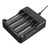 DC 4.2V 1200mA Smart Charger 4 Slots Fast Charging For 18650 Li-ion Battery
