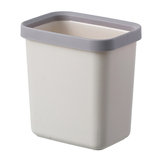 2L/6L/10L Waste Bins Creative Simple Nordic Desktop Trash Can with/Without Cover for Office Home Living Room Bathroom