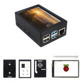 3,5 polegadas TFT 480 * 320 50FPS Touch Screen Display ABS Caso Kit para Raspberry Pi 4 Model B