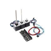 Çok Malzemeler 2.0 MMU2 Kurulu Ile Güç Sinyal Tel + MMU2.0 Kurşun Vida Motor Kit Prusa i3 MK3 3D Yazıcı için
