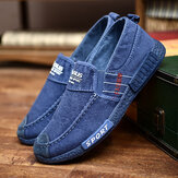 Segeltuch-Leichtgewichtler Soft Soles Casual Walking Loafers