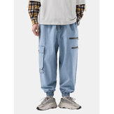 Mens New Fashion Casual Loose Plus Size Handsome Retro Jean