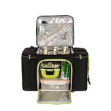 27L Aluminum Foil Oxford Thermal Insulated Lunch Bag Picnic Lunch Containers Large capacity Ice Bag