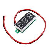 10pcs 0.28 Inch Two-wire 2.5-30V Digital Green Display DC Voltmeter Adjustable Voltage Meter