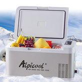 DC 12V/24V Alpicool 18L Portable Freezer Refrigerator Mini Fridges for Home Camping Car Boating Caravan
