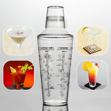 700ML Professionele transparante kunststof Margarita Drink Shaker Mixer Feest Cocktailshaker Bartending Tools Supplies Barman Drinkmixer