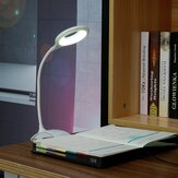 USB LED Reading Light Clip-on Clamp Bed Table Desk Lamp Night Light