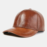 Outdoor Casual Top Layer Cowhide Baseball Caps