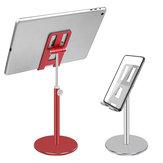 Bakeey 180 graden omhoog omlaag in hoogte verstelbaar aluminium desktop telefoonhouder Tabletstandaard voor smartphones Tablets voor Kindle voor iPad 4,0-10,5 inch Voor thuiskantoor Online cursus