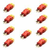 10PCS Amass XT60 Buchse an T Plug Adapterstecker für RC-Modelle