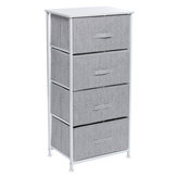 4 Drawers Storage Cabinet Office File Cabinet Home Bedroom Living Room Sundries Cabinet Bookshelf Decorations Stand
