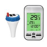 ワイヤレスリモートフローティングデジタル温度計プール水温スパホットタブ