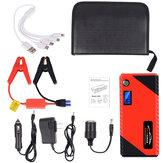 JX31 Display 98600mAh 12V Car Jump Starter Banco de potência de emergência portátil USB Bateria Booster braçadeira 1000A DC Port Red