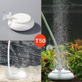 Aquarium Bubble Air Stone Aerator Fish Tank Pond Pump Hydroponics Disk