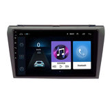 9 Inch for Android 8.1 Car GPS Navigation Auto Stereo Wifi Quad-core 1+16G bluetooth Touch Screen FM For Mazda 3 2004-2012