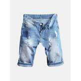 Hip-Hop Holes Denim Short