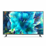 Xiaomi Mi TV 4S 43 Inch spraakbesturing DVB-T2 / C 2GB RAM 8GB ROM 5G WIFI bluetooth 4.2 Android 9.0 4K UHD Smart TV Televisie Internationale versie