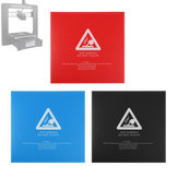 214x214mm Black/Blue/Red Hot Bed Surface Sticker Heated Bed Platform Film for 3D Printer Part