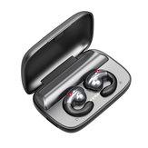 S19 TWS معلقة الأذن العظام التوصيل بلوتوث 5.0 الرياضة يدوي سماعات سماعات