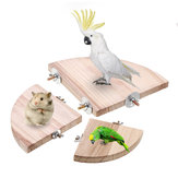 10/13 / 17cm Smooth Steady Pet Bird Platform Platform Cage Stand Płyta dolna dla chomika papugi Sparrow Small Pet