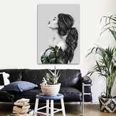 Girl Modern Canvas Print Paintings Wall Art Picture Home Office Decor Unframed