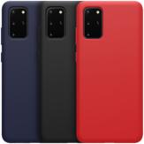 ParachoquesNILLKINApruebadegolpes Anti-huella digital Suave Soft Líquido Silicona Protector Caso para Samsung Galaxy S20 + / Galaxy S20 Plus 5G 2020
