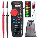 BSIDE ADM92CL PRO Color LCD Digital Multimeter 6000 Counts TRMS Auto-Range Voltage Amp Ohm Hz Cap Temp Diode Continuity Tester