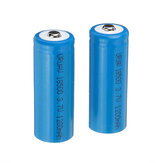 2Pcs URUAV 3.7V 1200mAh 1S 18500 Li-ion Battery for Frsky Taranis X-Lite Radio Transmitter